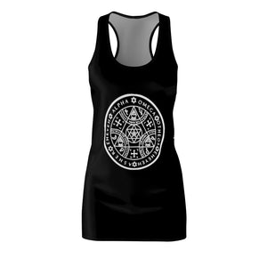 Little Black Dress of Enochian Magick Protection Chargeable Sigil