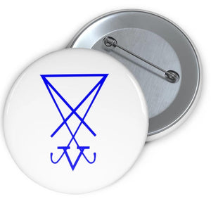 Pin Button Lucifer/Luciferian Sigil - BlackTreeBlueRaven