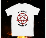 "The ""I Curse Rapists"" Exclusive Tee in White From V.K. Jehannum"