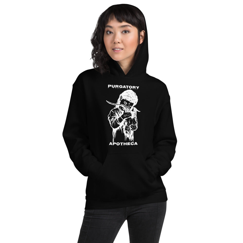 "Purgatory Apotheca ""Children of the Fallen Ones"" Soft Hoodie"