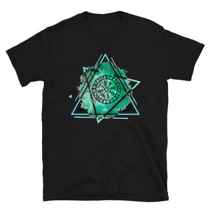 Vegvisir Runic Viking Compass Protection and Guidance Graphic Tee
