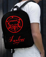 """Belial The Lawless One"" Backpack! - BlackTreeBlueRaven"