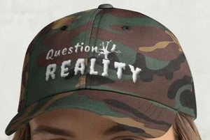 """Question Reality"" BlackTreeBlueRaven Exclusive Baseball Hat! - BlackTreeBlueRaven"