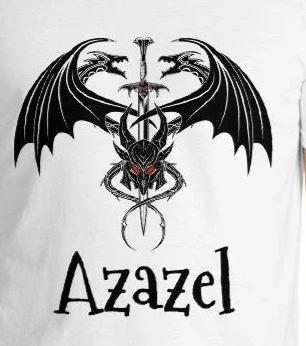 Azazel Dragon Sword Graphic Tee Unisex