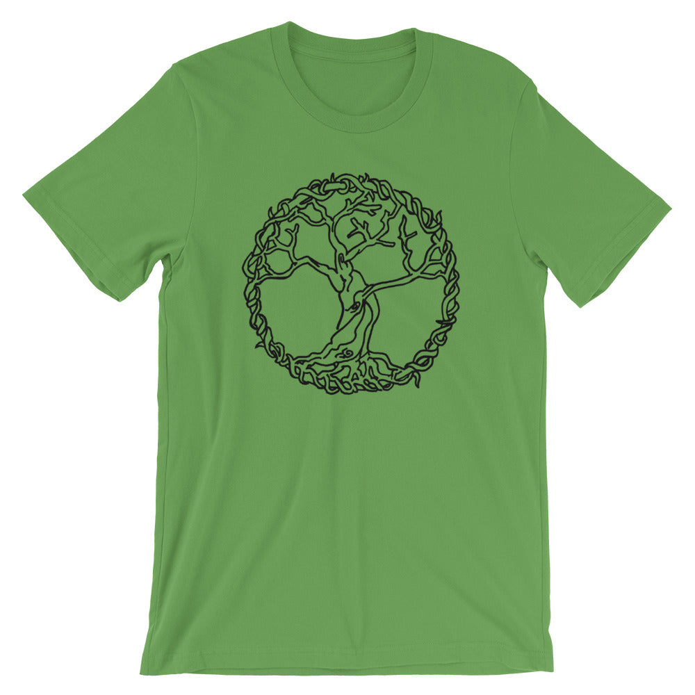 Tree of Life Graphic Tee for Men Or Woman - BlackTreeBlueRaven