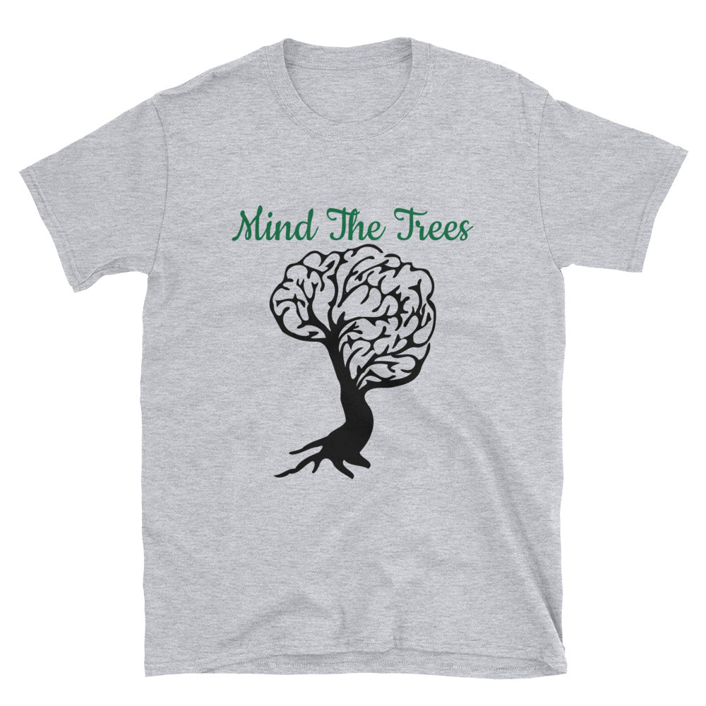 Mind the Trees Environmental Connection Shirt (Men or Woman) - BlackTreeBlueRaven
