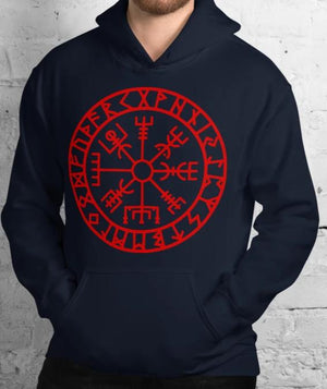 Vegvisir Viking Runic Compass Symbol of Guidance and Protection - BlackTreeBlueRaven