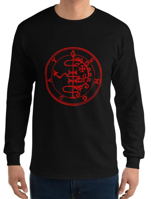 Asmoday Asmodeus Men's Long Sleeve Shirt