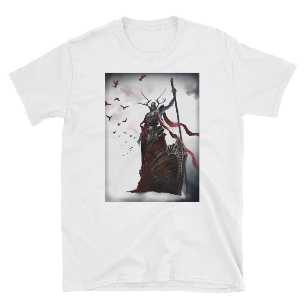 Demon in Boat Graphic Tee - BlackTreeBlueRaven
