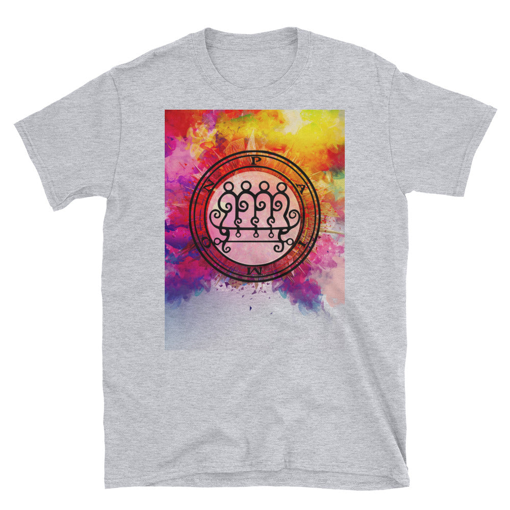 King Paimon Sigil/Seal Watercolor Graphic Tee - BlackTreeBlueRaven