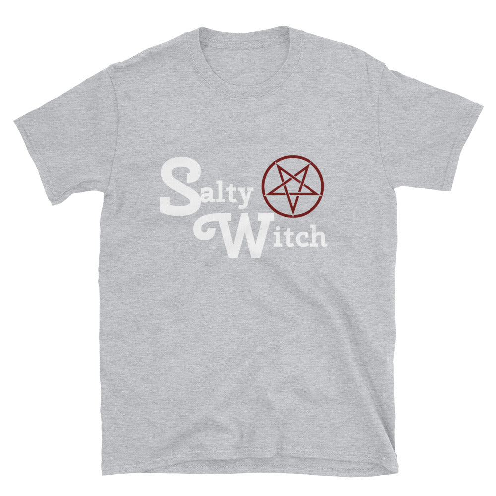 """Salty Witch"" Womens or Mens Tee Shirt! - BlackTreeBlueRaven"