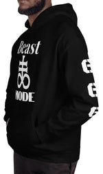 """Beast Mode"" 666 Satanic Cross of Leviathan Hoodie!"