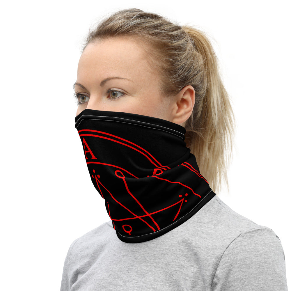 Astaroth Astarte Washable Chargeable Sigil Face Cover Mask Neck Gaiter