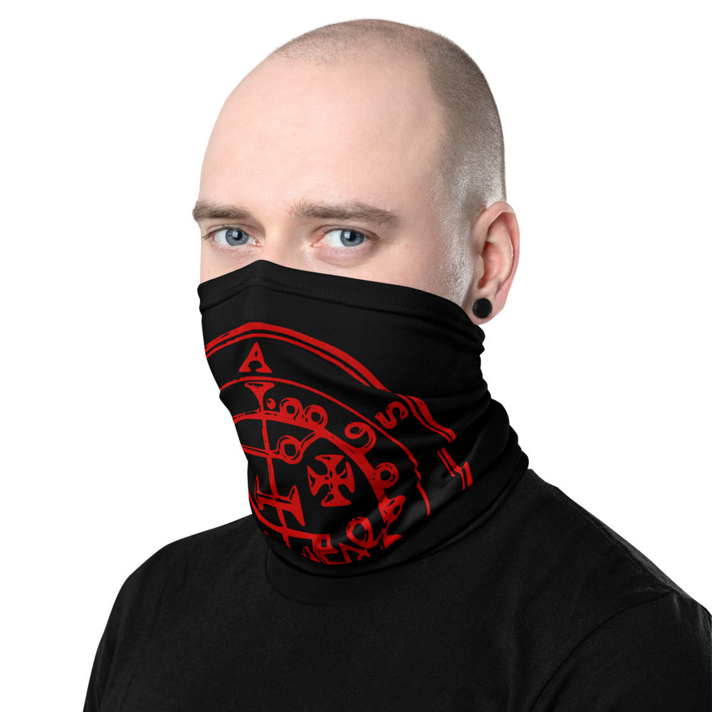 Asmoday Sigil Vintage Style Face Mask Cover Neck Gaiter