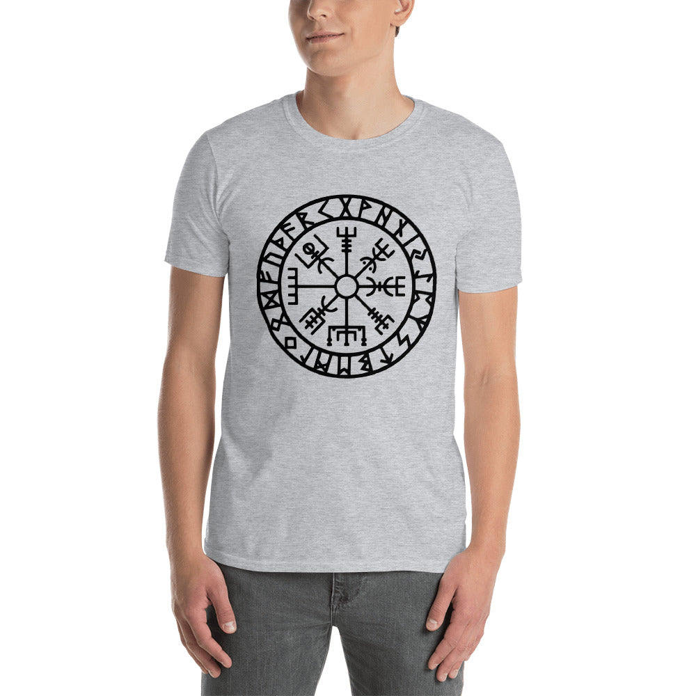 Unisex T-Shirt Vegvisir Runic Symbol of Protection and Guidance BOGO for a limited time! - BlackTreeBlueRaven