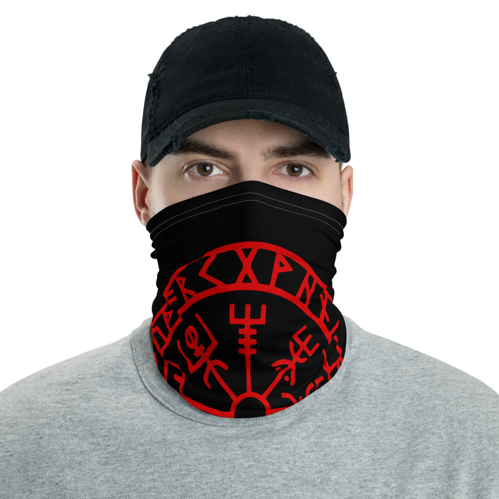 Viking Protection Compass Washable Face Mask Norse Neck Gaiter