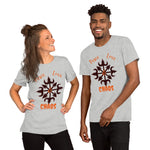 Peace, Love and Chaos Magick Symbol Unisex Tee Shirt - BlackTreeBlueRaven