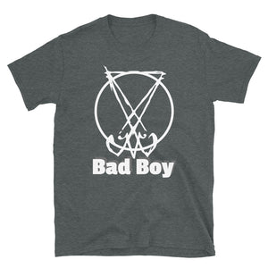 "Men's Lucifer Sigil Tee ""Bad Boy"" Witch"