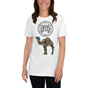 King Paimon Sigil Camel Graphic Tee - BlackTreeBlueRaven
