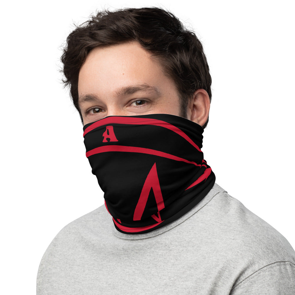 Sigil of Abaddon Black and Red Face Cover Mask Washable Neck Gaiter