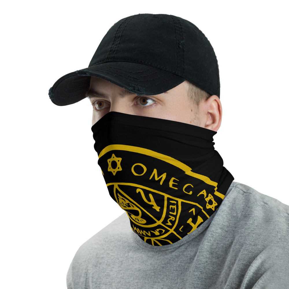 Enochian Sigil of Protection Face Mask Neck Gaiter