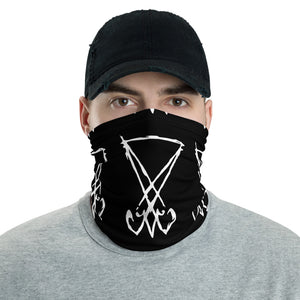 Face Mask Lucifer Luciferian Washable Chargeable Sigil