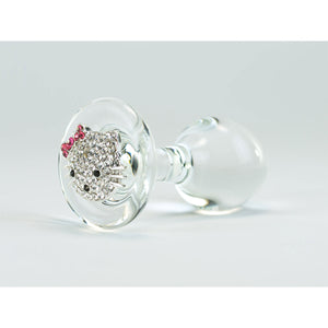 Crystal Delights Kitty Plug - Clear