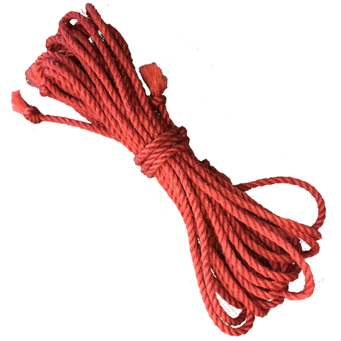 Red Jute Rope, 32 Ft.