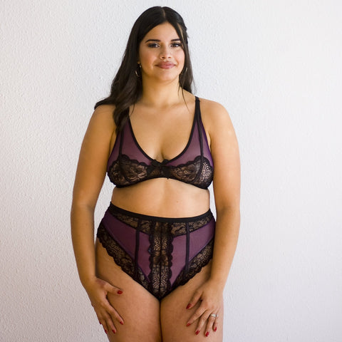 Sugar Plum Lace Set-Panty