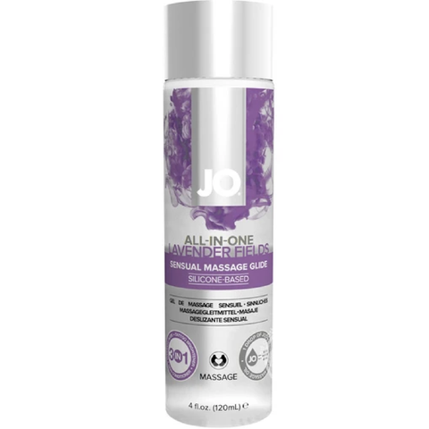 All-In-One Lavender Silicone Massage Glide