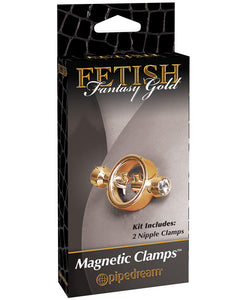 Gold Magnetic Nipple Clamps