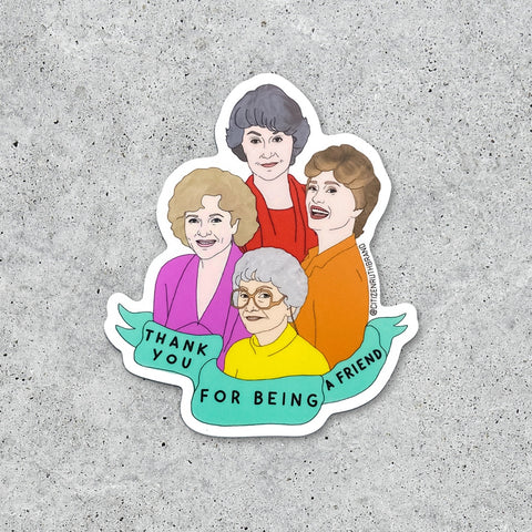 Sticker, Golden Girls