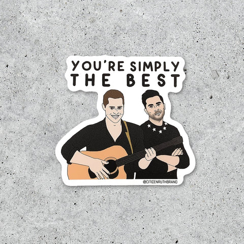 Sticker, Simply the Best