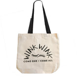 WinkWink Canvas Bags