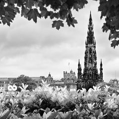 Edinburgh Scott Monument Pano