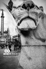 Glasgow George Square Lion