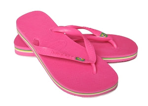 Brazil Havaianas - Pink (2 Sizes Left)