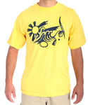 Mens Sun, Surf, and Capoeira Tee