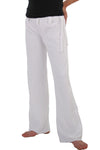 Kids White Capoeira Pants
