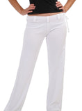 Womens White Capoeira Pants