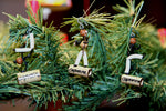 Capoeira Christmas Tree Ornament