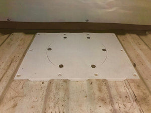 Bay Window fuel sender access hatch