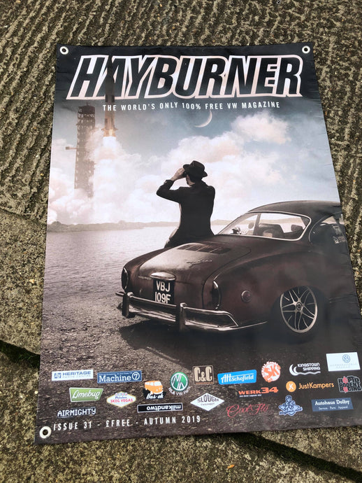 Hayburner Front Cover Banner - Issue 31