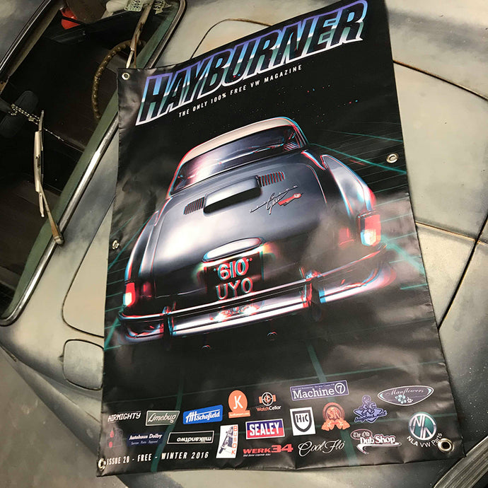 Hayburner Front Cover Banner - Issue 20
