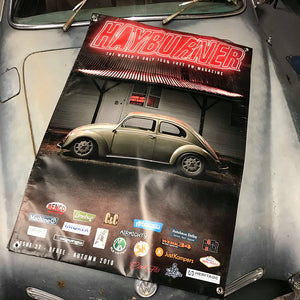 Hayburner Front Cover Banner - Issue 27