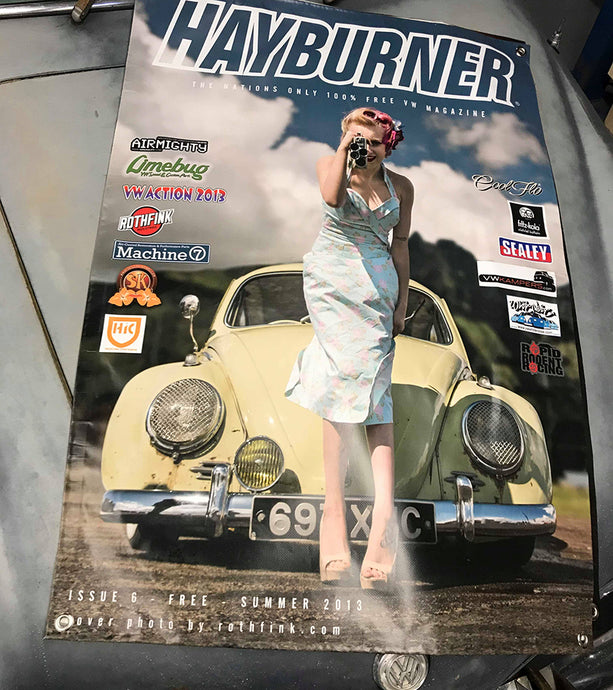 Hayburner Front Cover Banner - Issue 6
