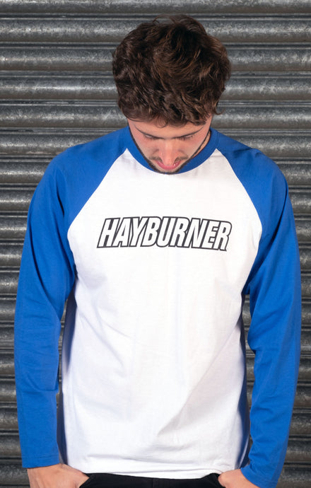 Royal Blue 'Classic' Baseball Shirt