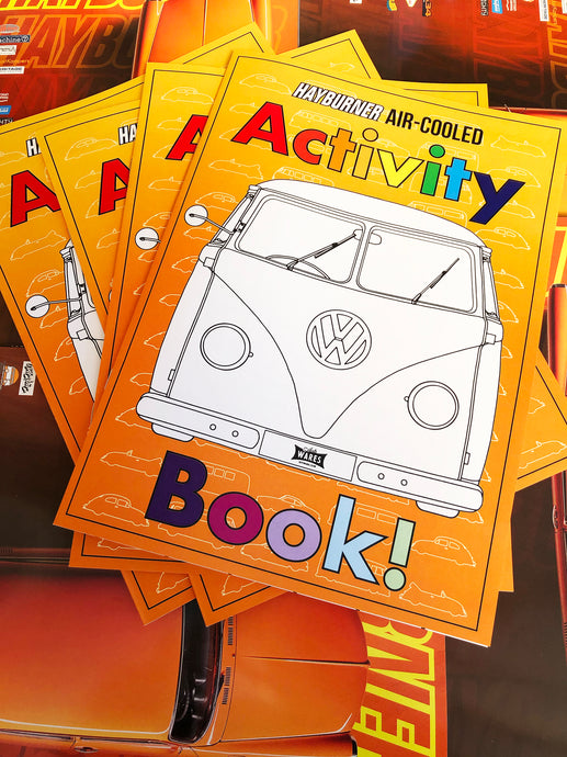 *NEW* Aircooled Activity Book