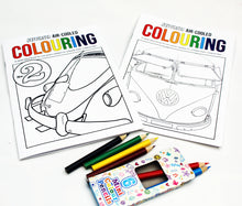 Load image into Gallery viewer, Aircooled Colouring Book Packs
