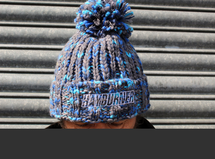 Deluxe 'Electric Blue' Wooly Hat